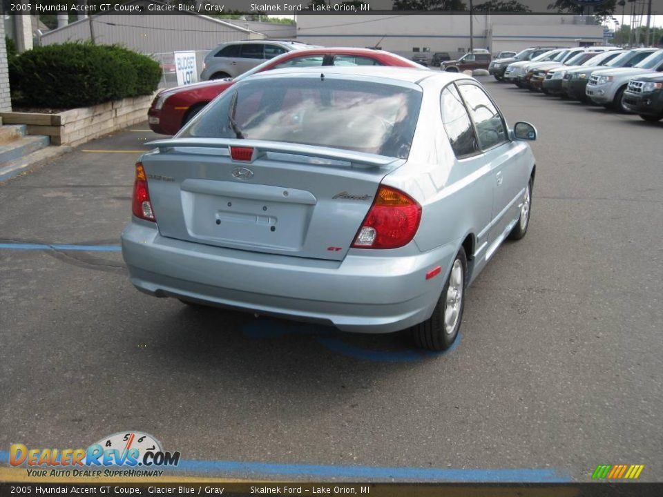 2005 hyundai accent gt coupe glacier blue gray photo 5. Black Bedroom Furniture Sets. Home Design Ideas