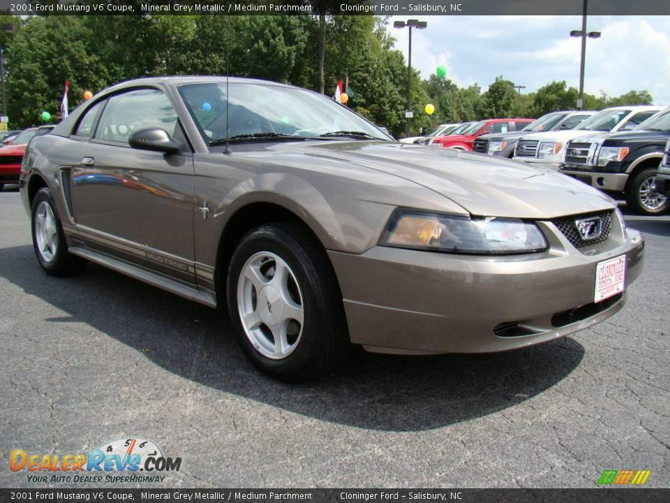 2001 ford mustang v6 coupe mineral grey metallic medium. Black Bedroom Furniture Sets. Home Design Ideas