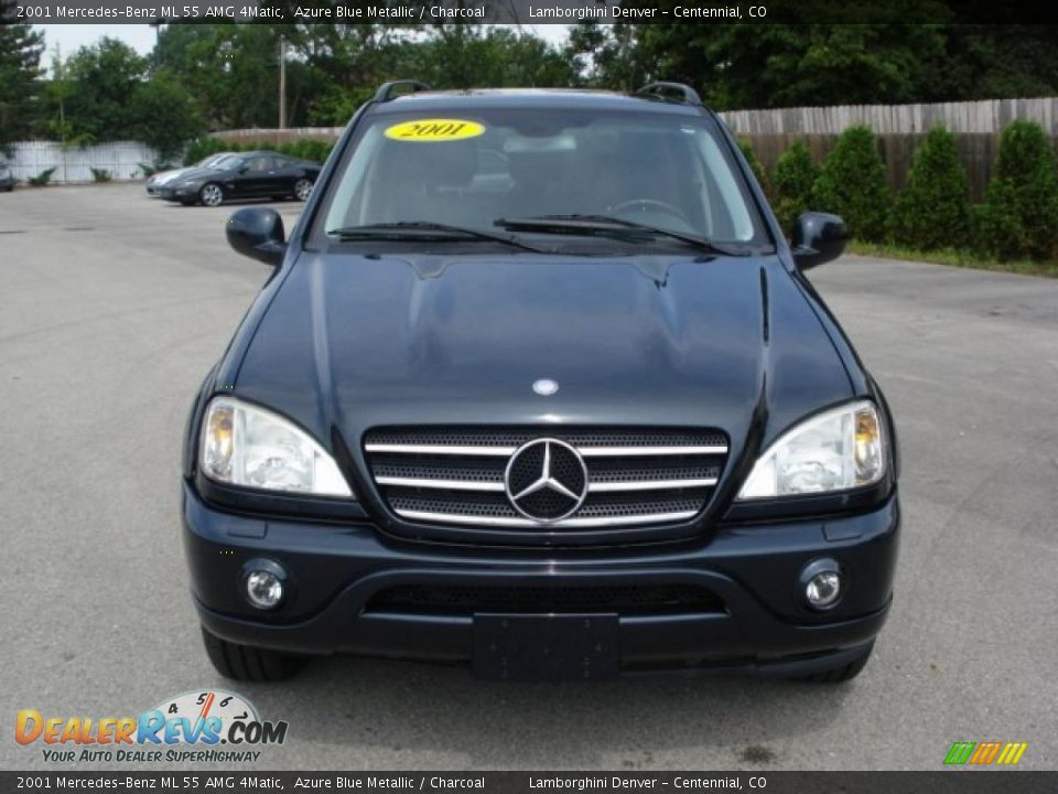 2001 mercedes benz ml 55 amg 4matic azure blue metallic charcoal photo 10. Black Bedroom Furniture Sets. Home Design Ideas