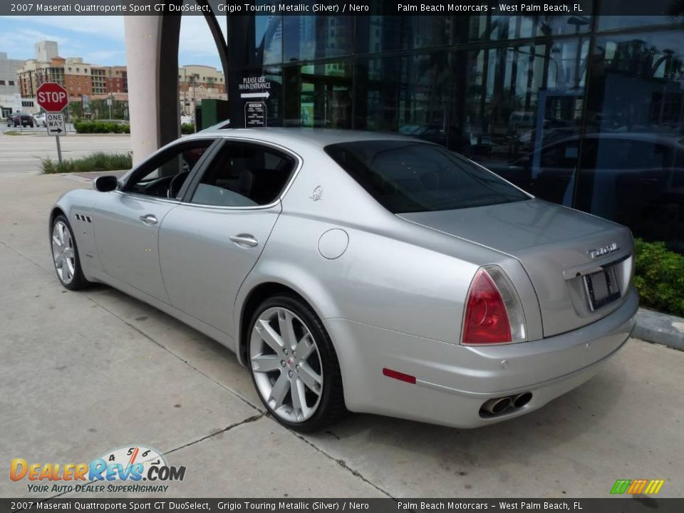 grigio touring metallic silver 2007 maserati quattroporte sport gt duoselect photo 4. Black Bedroom Furniture Sets. Home Design Ideas