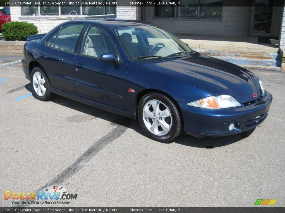 2002 chevrolet cavalier z24 sedan indigo blue metallic neutral photo. Cars Review. Best American Auto & Cars Review