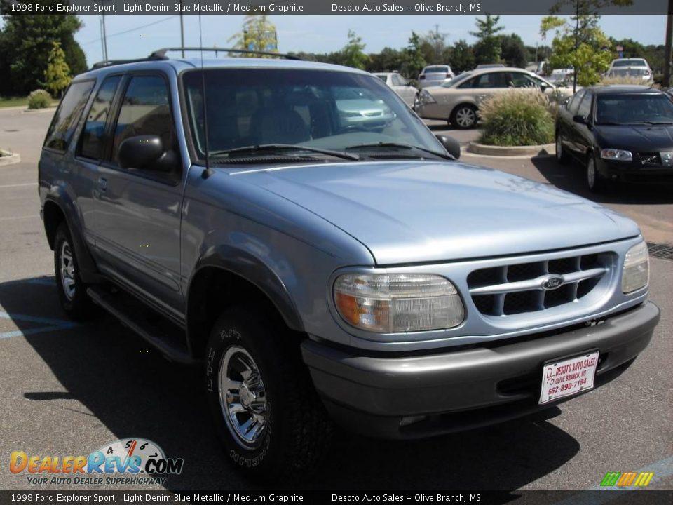 Ford Dealer Locator >> 1998 Ford Explorer Sport Light Denim Blue Metallic / Medium Graphite Photo #4 | DealerRevs.com