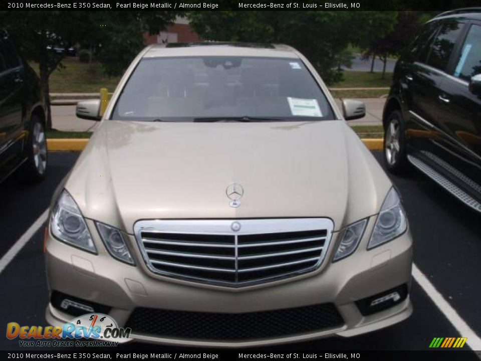 2010 mercedes benz e 350 sedan pearl beige metallic for 2010 mercedes benz e350 sedan