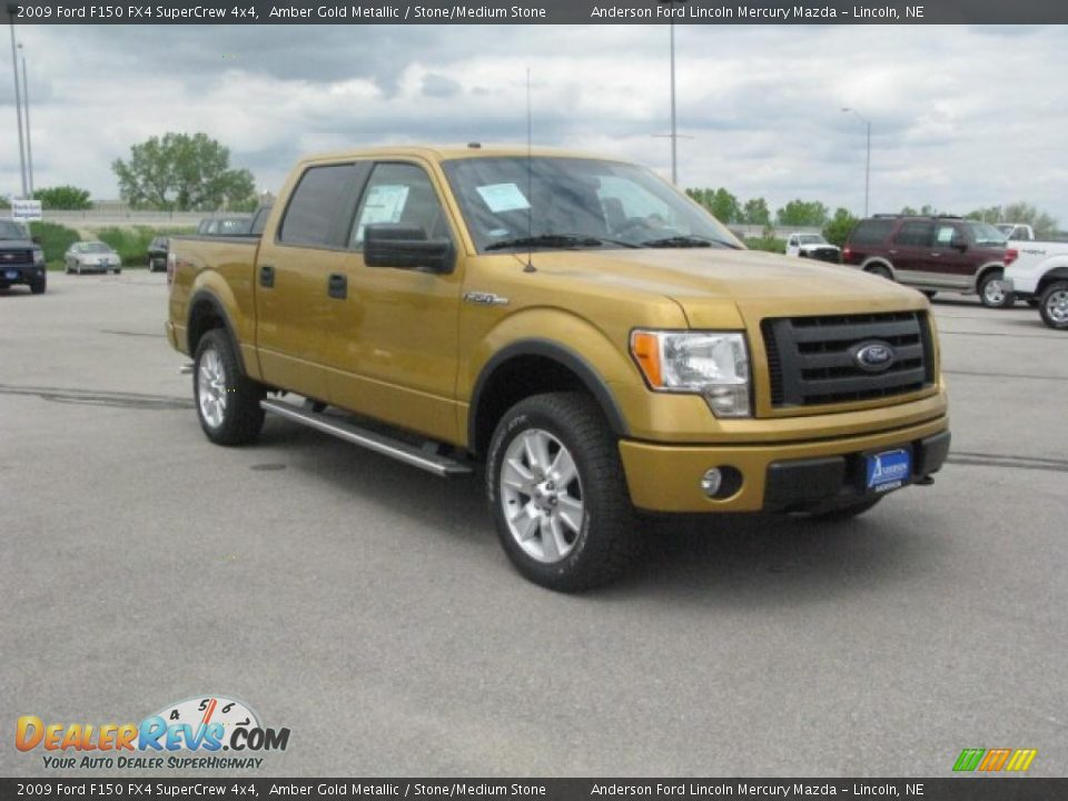 2009 ford f150 fx4 supercrew 4x4 amber gold metallic. Black Bedroom Furniture Sets. Home Design Ideas