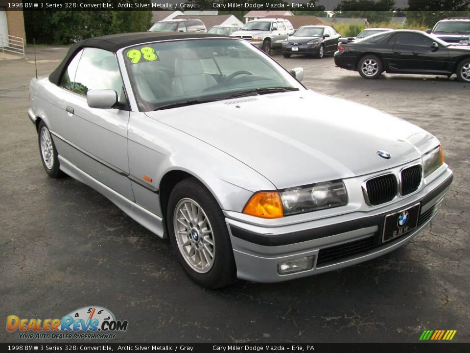 1998 Bmw 3 Series 328i Convertible Arctic Silver Metallic