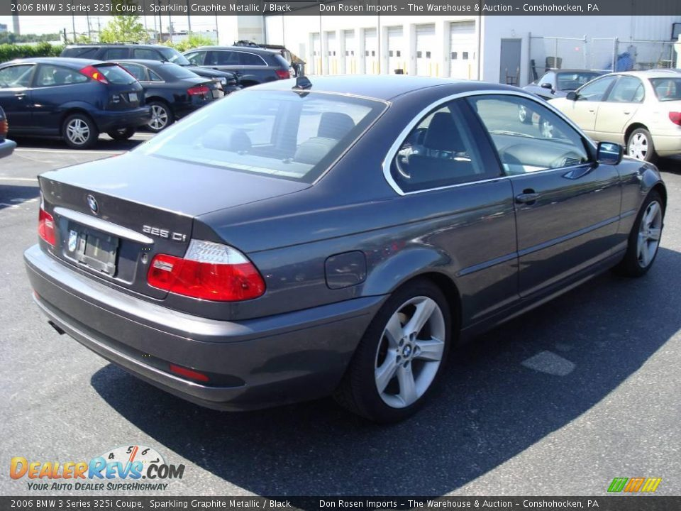 2006 bmw 3 series 325i coupe sparkling graphite metallic. Black Bedroom Furniture Sets. Home Design Ideas