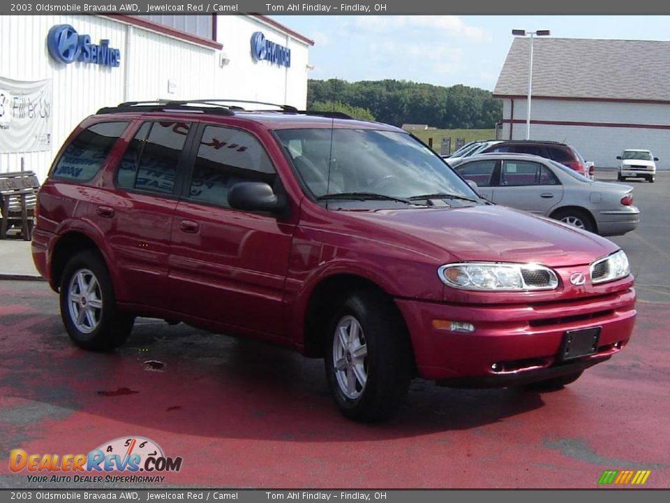 Auto Com Used Cars >> 2003 Oldsmobile Bravada AWD Jewelcoat Red / Camel Photo #7 ...