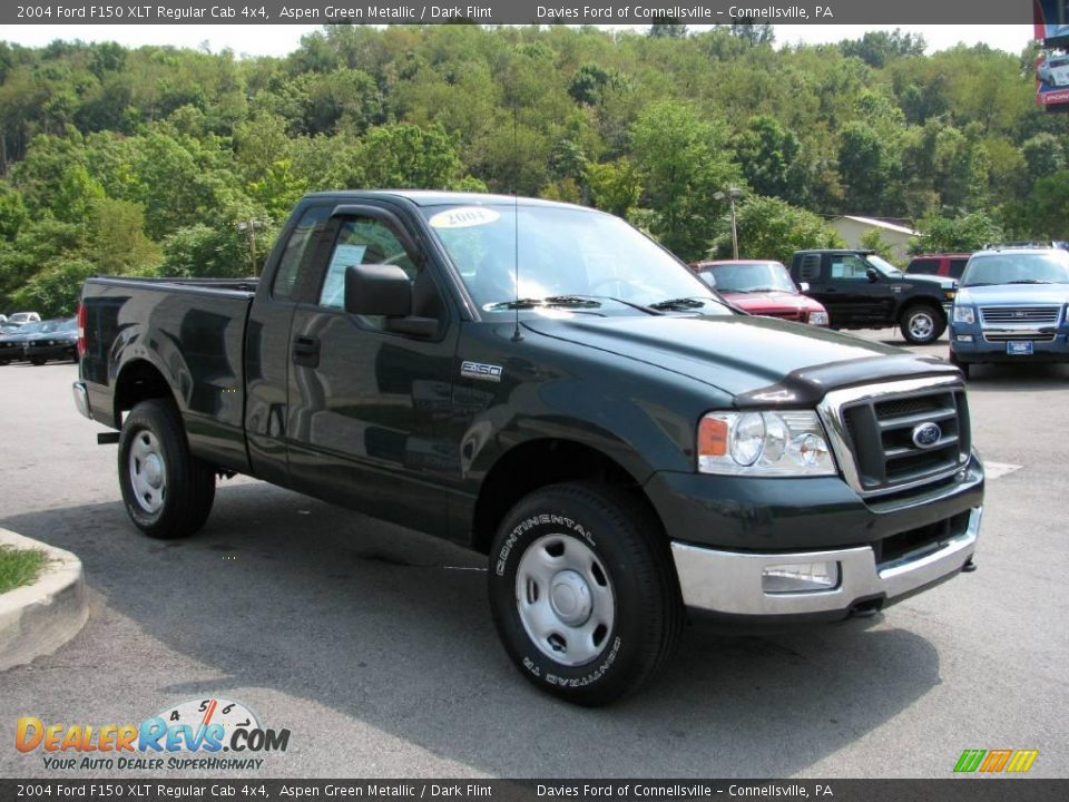 2004 ford f150 xlt regular cab 4x4 aspen green metallic. Black Bedroom Furniture Sets. Home Design Ideas