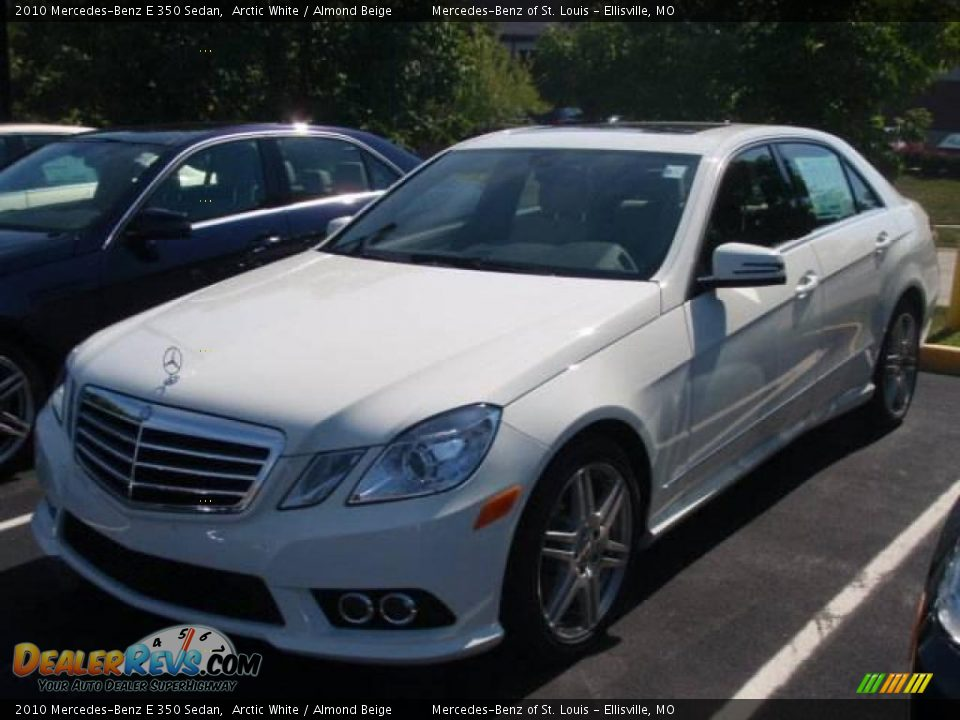 2010 mercedes benz e 350 sedan arctic white almond beige for 2010 mercedes benz e350 sedan