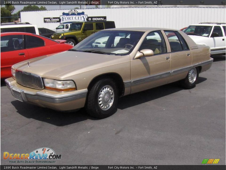 1996 Buick Roadmaster Limited Sedan Light Sandrift