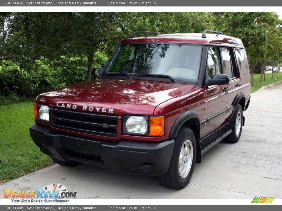 2000 Land Rover Discovery Ii Rutland Red Bahama Photo 1