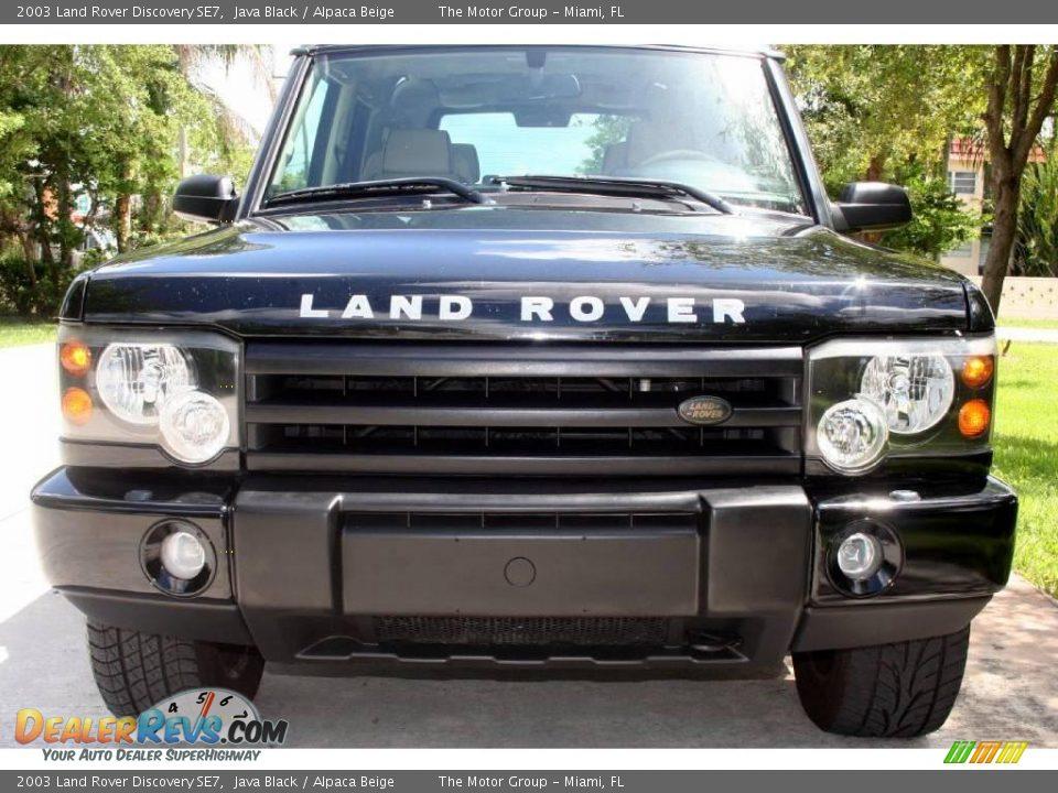 2003 land rover discovery se7 java black alpaca beige photo 15. Black Bedroom Furniture Sets. Home Design Ideas