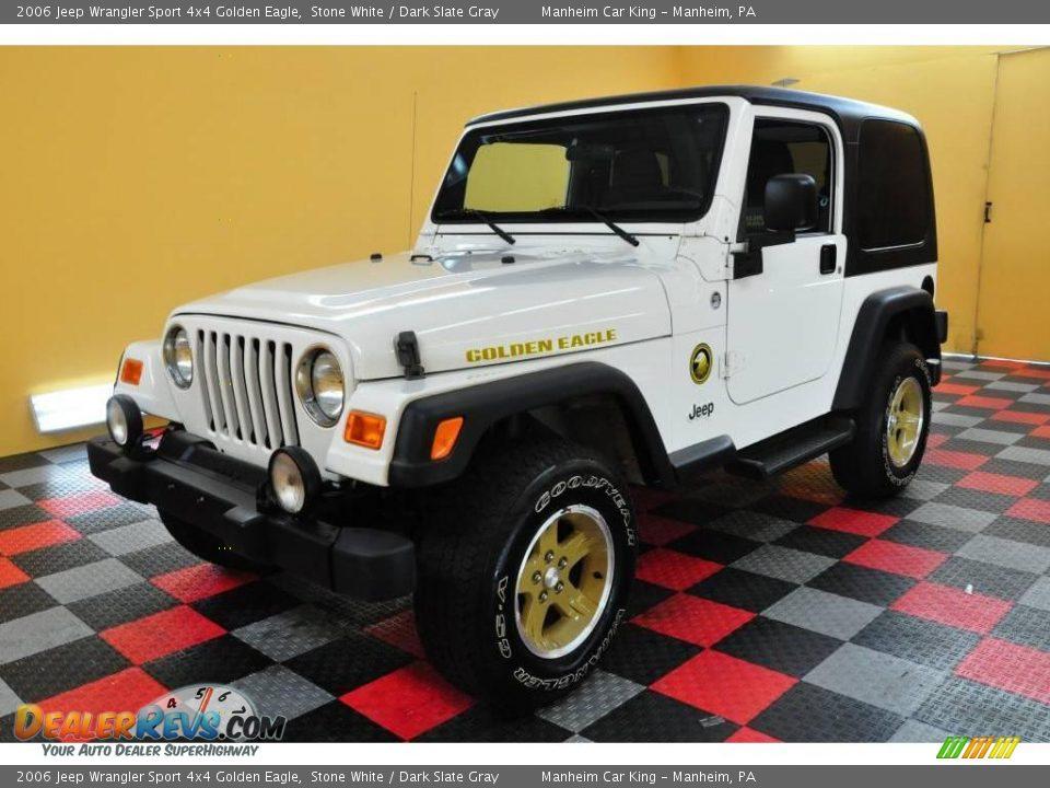 2006 Jeep Wrangler Sport 4x4 Golden Eagle Stone White