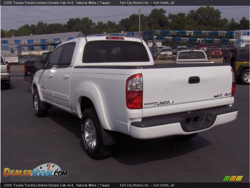 2005 toyota tundra limited double cab 4x4 natural white taupe photo 2. Black Bedroom Furniture Sets. Home Design Ideas