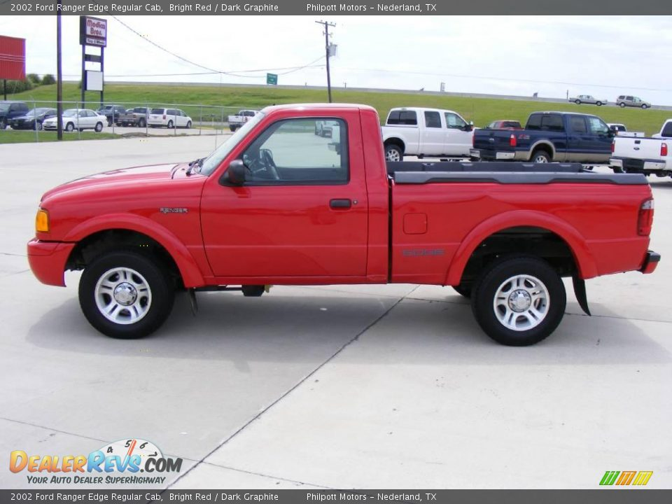 2002 Ford Ranger Edge Regular Cab Bright Red Dark