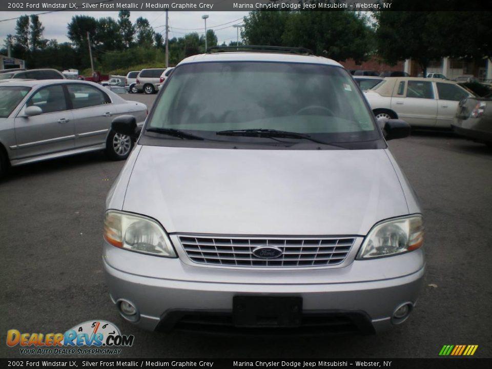 2002 ford windstar lx silver frost metallic medium graphite grey photo 13 dealerrevs com dealerrevs com