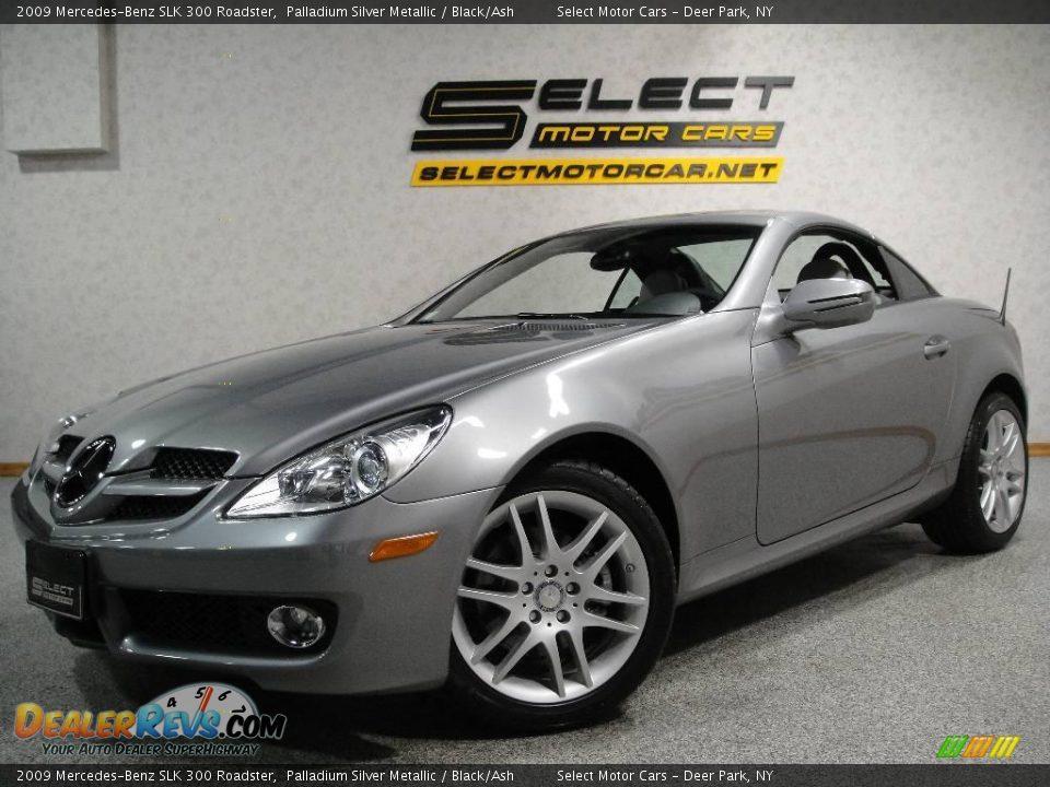 2009 mercedes benz slk 300 roadster palladium silver for Mercedes benz slk 300
