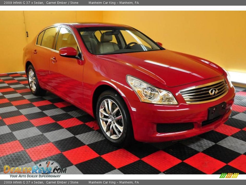 2009 infiniti g 37 x sedan garnet ember stone photo 1 for G stone motors used cars