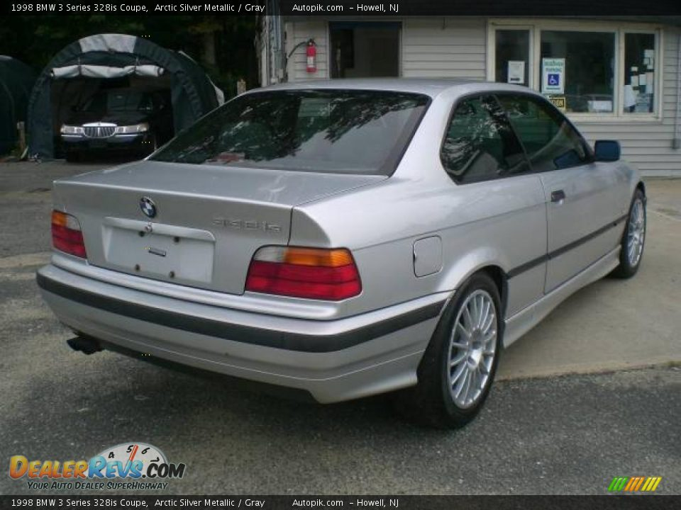 1998 bmw 3 series 328is coupe arctic silver metallic gray photo 7 dealerrevs com