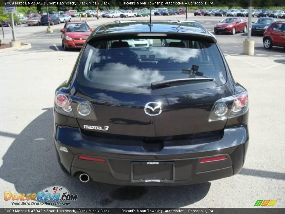 2009 mazda mazda3 s sport hatchback black mica black. Black Bedroom Furniture Sets. Home Design Ideas