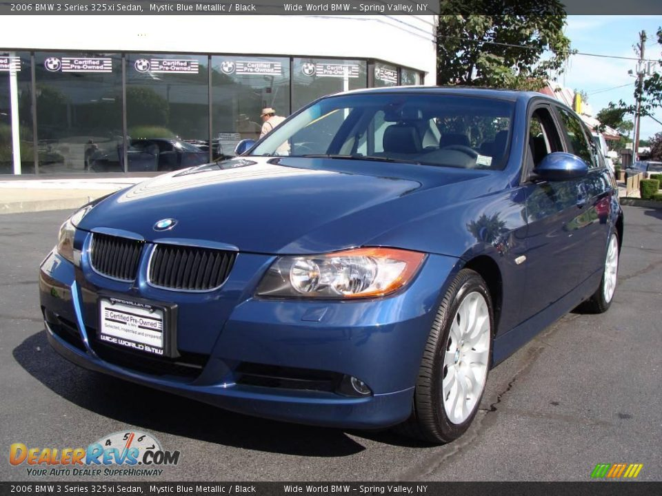 2006 bmw 3 series 325xi sedan mystic blue metallic black photo 1. Black Bedroom Furniture Sets. Home Design Ideas