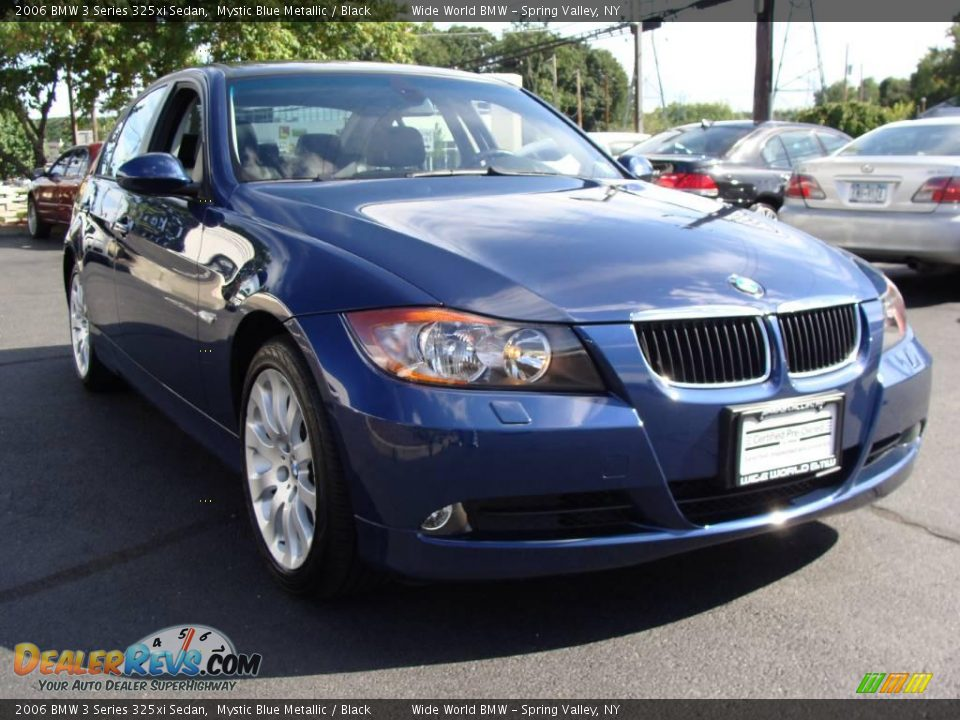 2006 bmw 3 series 325xi sedan mystic blue metallic black photo 3. Black Bedroom Furniture Sets. Home Design Ideas