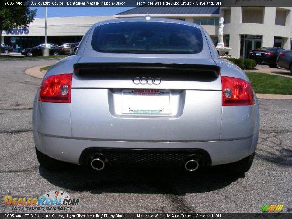 2005 audi tt 3 2 quattro coupe light silver metallic ebony black photo 4. Black Bedroom Furniture Sets. Home Design Ideas