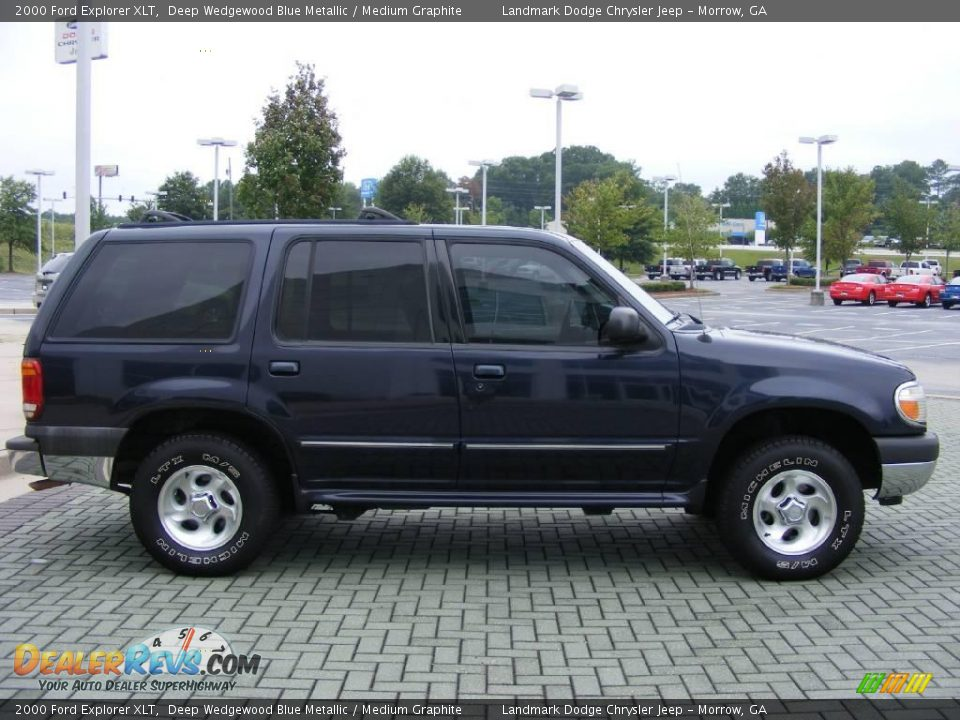 Used Ford Explorer >> 2000 Ford Explorer XLT Deep Wedgewood Blue Metallic / Medium Graphite Photo #6 | DealerRevs.com