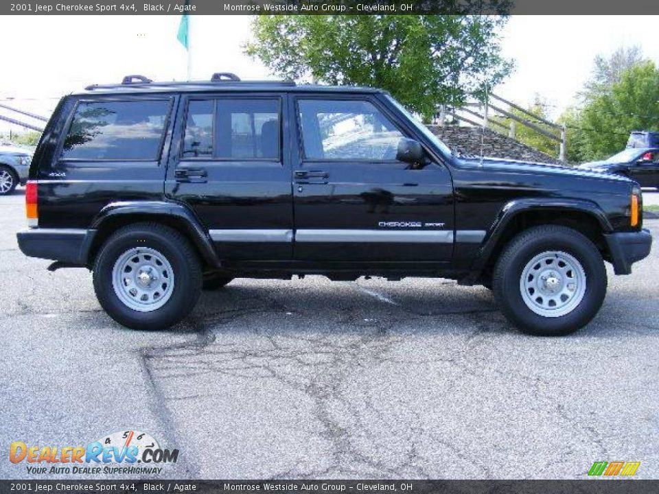 2001 jeep cherokee sport 4x4 black agate photo 6. Cars Review. Best American Auto & Cars Review