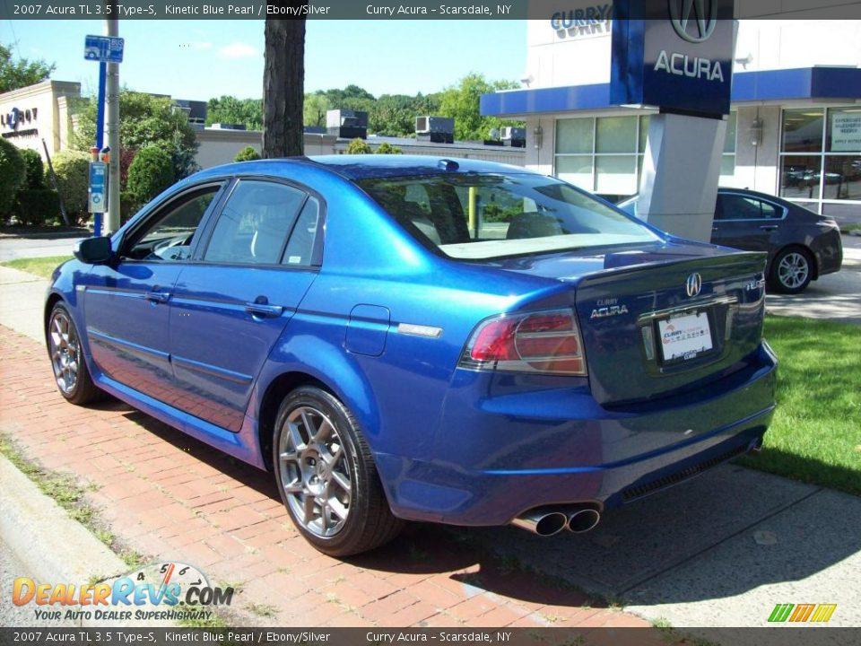 2007 Acura Tl 3 5 Type S Kinetic Blue Pearl Ebony Silver