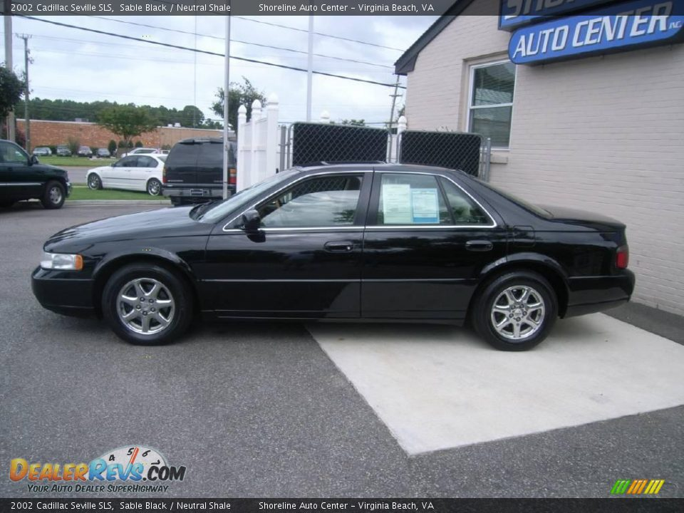 2002 cadillac seville sls sable black neutral shale photo 3. Cars Review. Best American Auto & Cars Review