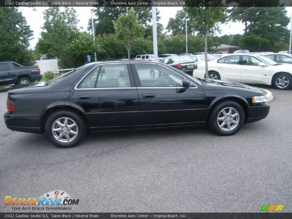 2002 Cadillac Seville Sls Sable Black Neutral Shale
