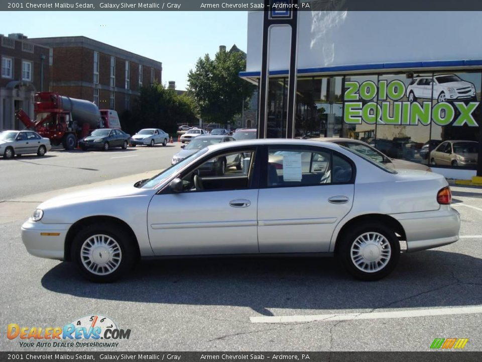 2001 chevrolet malibu sedan galaxy silver metallic gray. Black Bedroom Furniture Sets. Home Design Ideas