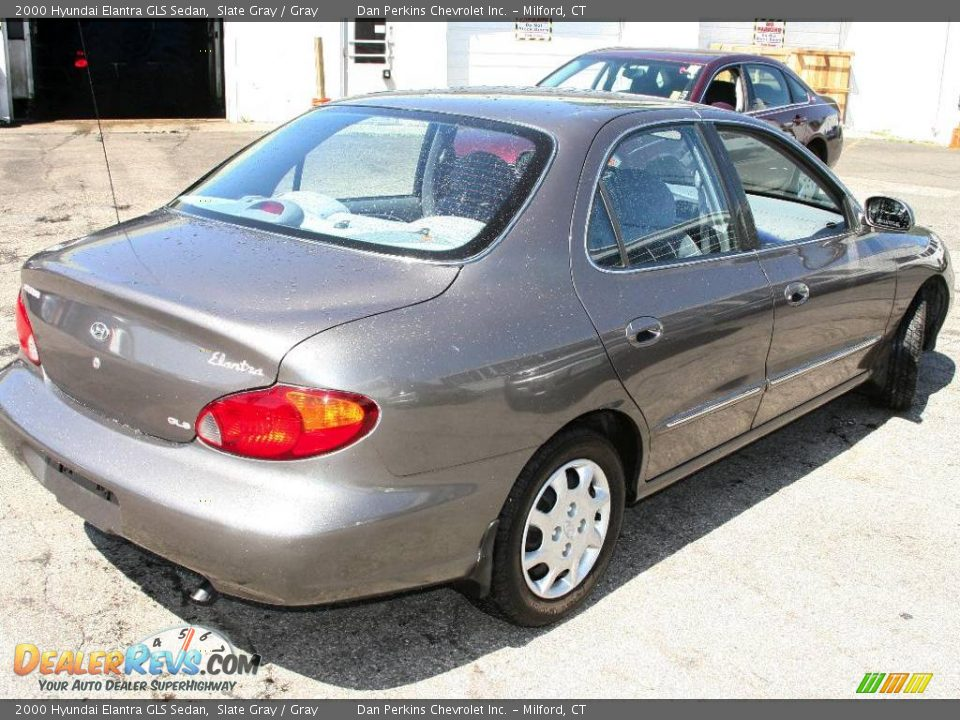 2000 hyundai elantra gls sedan slate gray gray photo 5. Black Bedroom Furniture Sets. Home Design Ideas