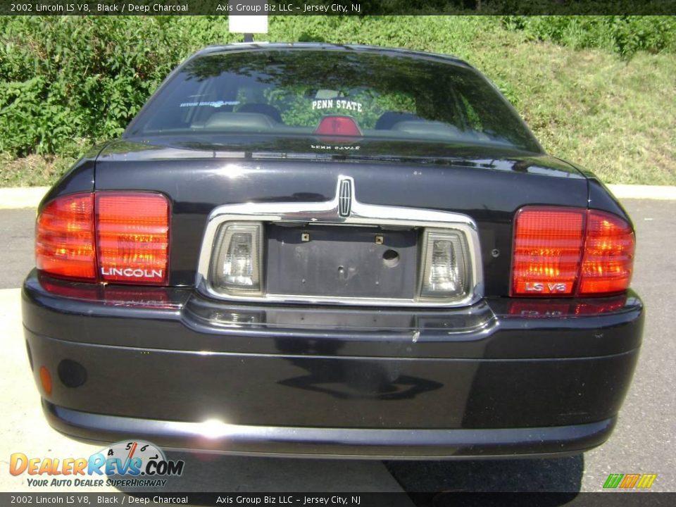 2002 lincoln ls v8 black deep charcoal photo 4 for State motors lincoln dealer manchester nh