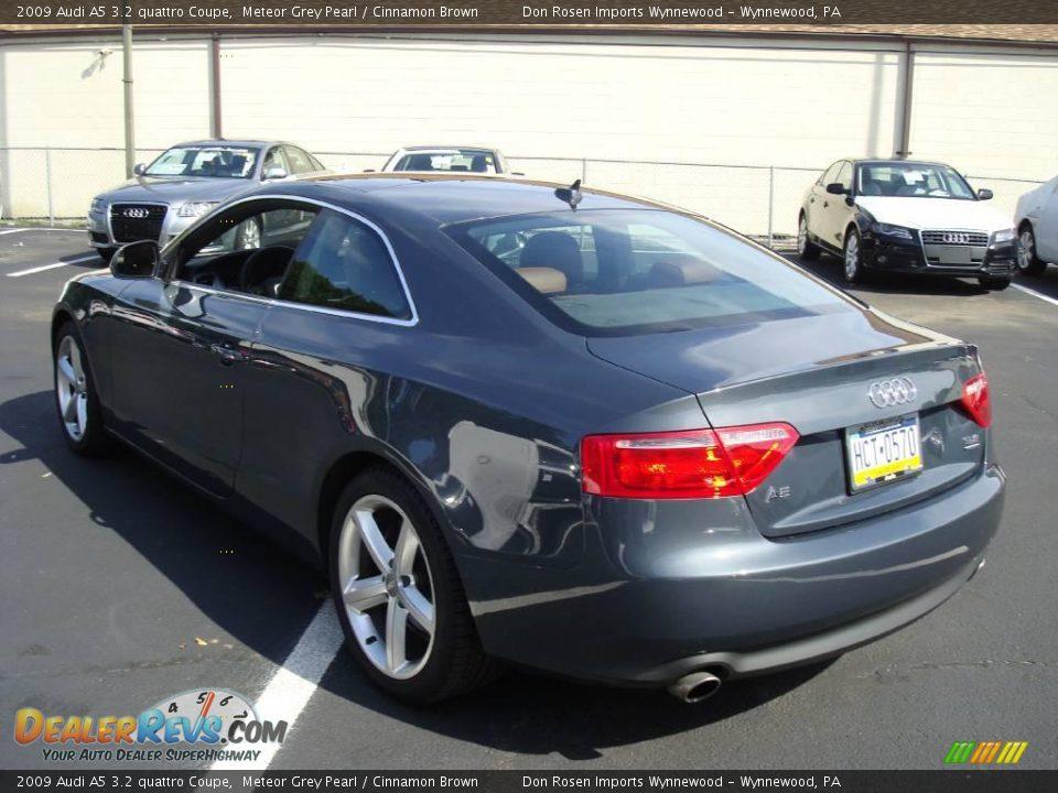2009 Audi A5 3 2 Quattro Coupe Meteor Grey Pearl