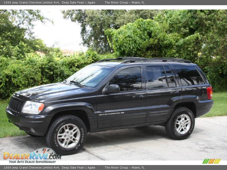 1999 Jeep Grand Cherokee Limited 4x4 Deep Slate Pearl