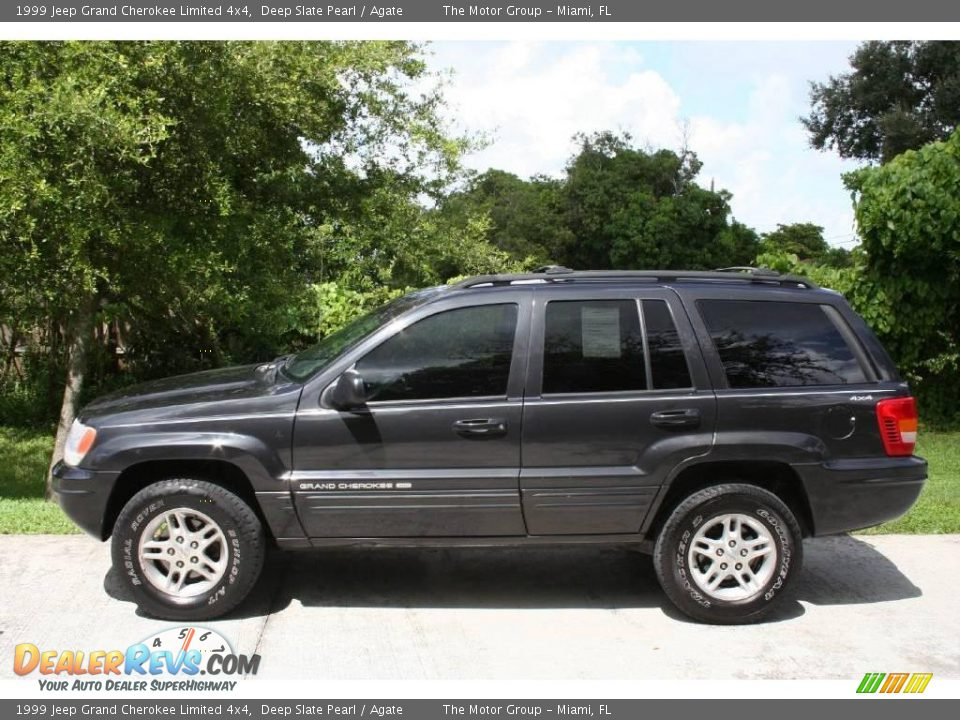 1999 jeep grand cherokee limited 4x4 deep slate pearl agate photo 5. Cars Review. Best American Auto & Cars Review