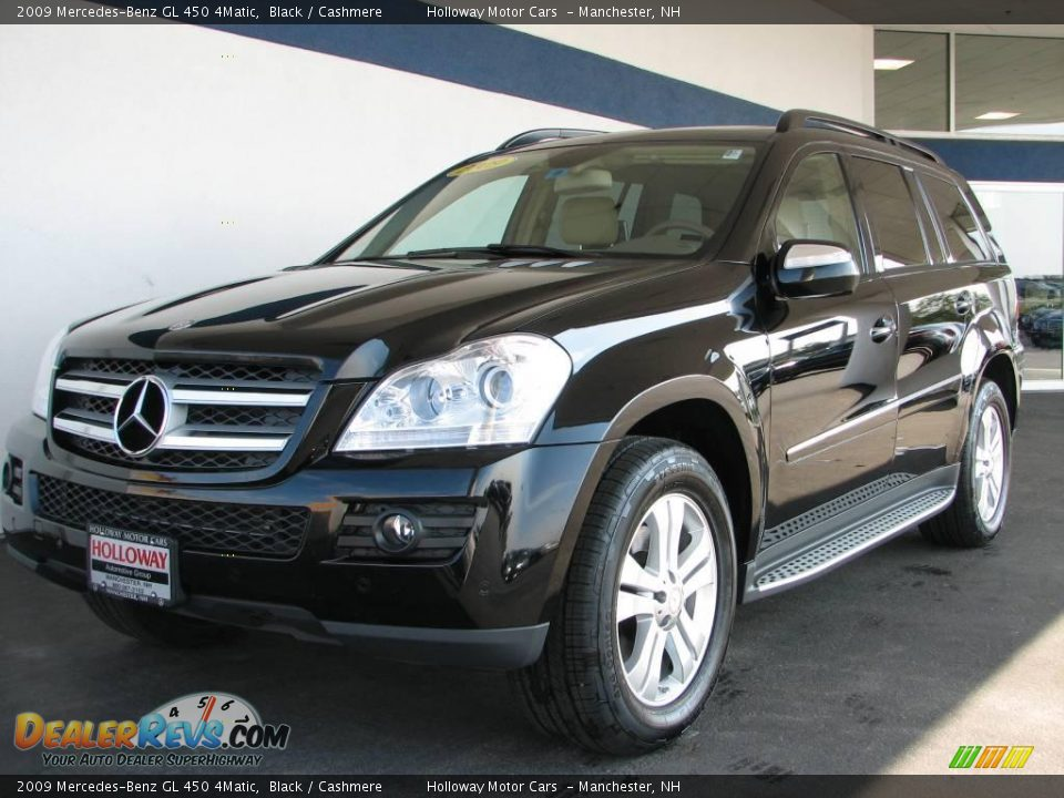 2009 mercedes benz gl 450 4matic black cashmere photo 1. Black Bedroom Furniture Sets. Home Design Ideas