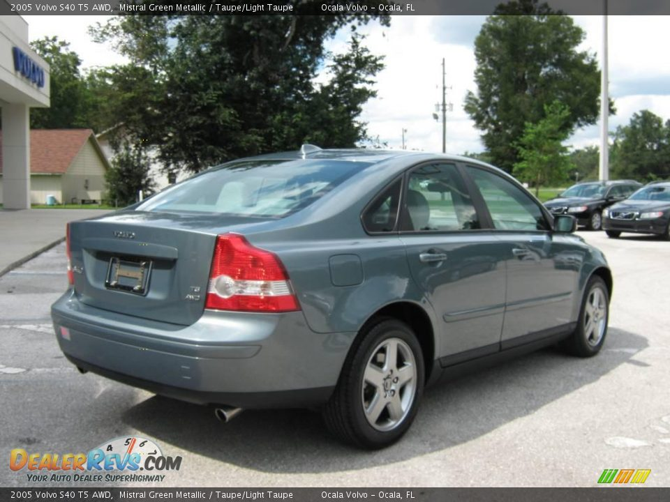 2005 volvo s40 t5 awd mistral green metallic taupe light taupe photo 3. Black Bedroom Furniture Sets. Home Design Ideas