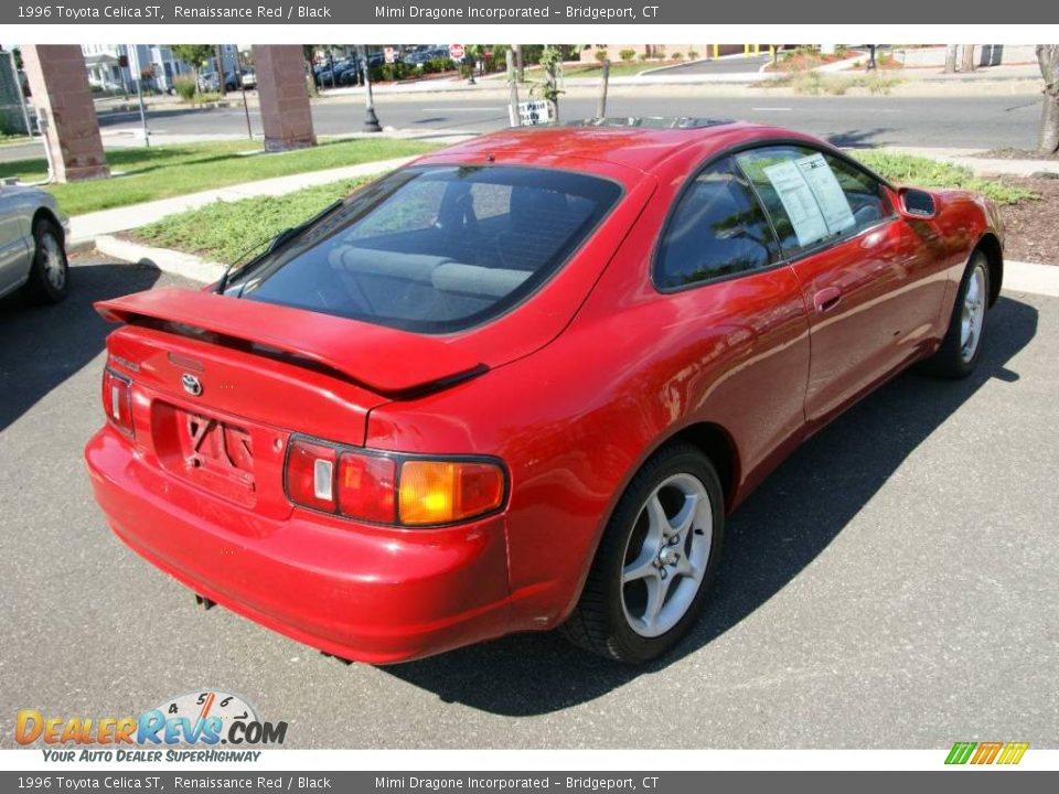 1996 Toyota Celica St Renaissance Red Black Photo 4