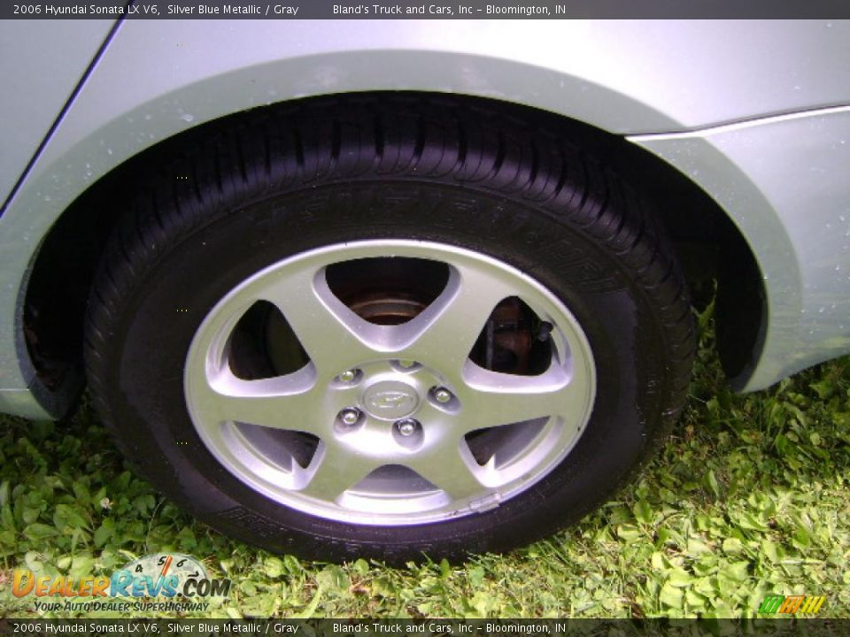 2006 Hyundai Sonata Lx V6 Silver Blue Metallic Gray