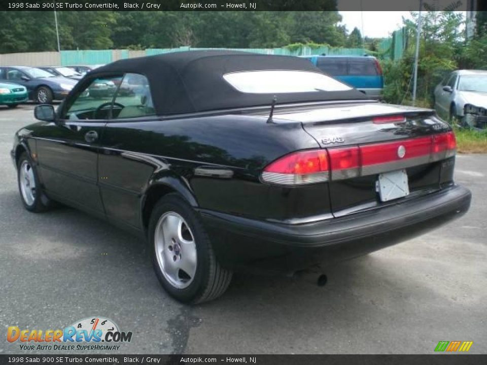 1998 saab 900 se turbo convertible black grey photo 8. Black Bedroom Furniture Sets. Home Design Ideas