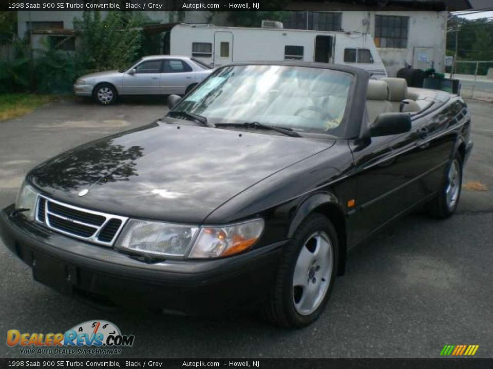 1998 saab 900 se turbo convertible black grey photo 11. Black Bedroom Furniture Sets. Home Design Ideas