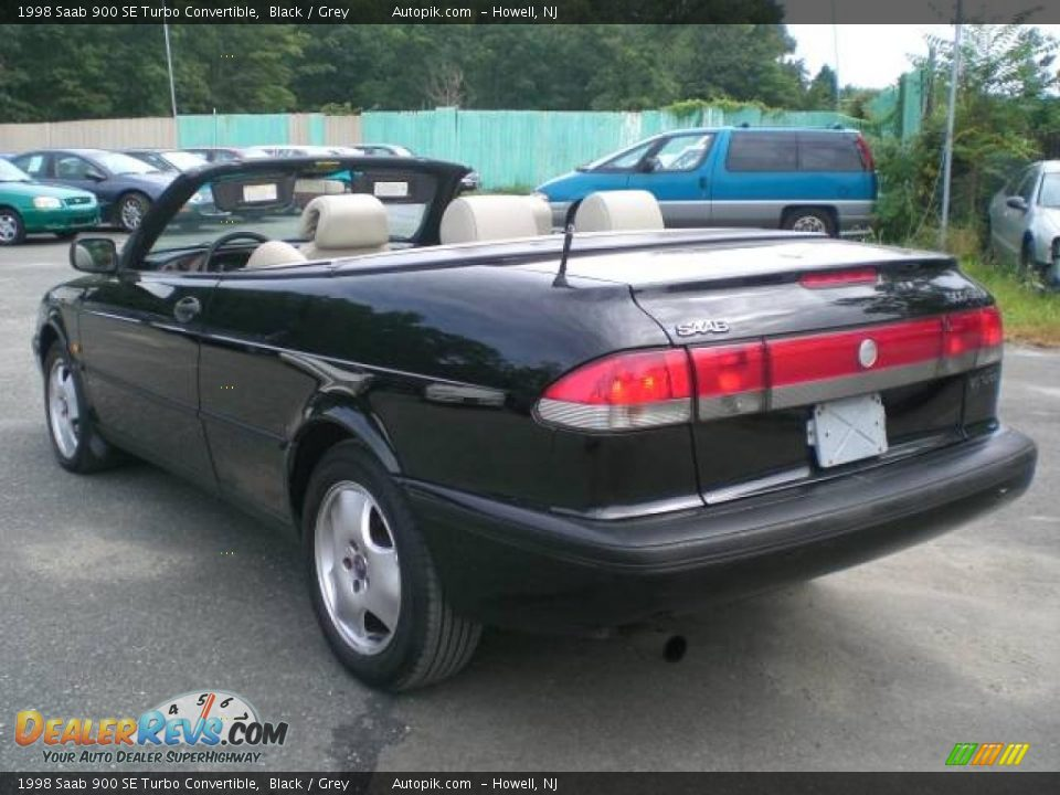 1998 saab 900 se turbo convertible black grey photo 15. Black Bedroom Furniture Sets. Home Design Ideas