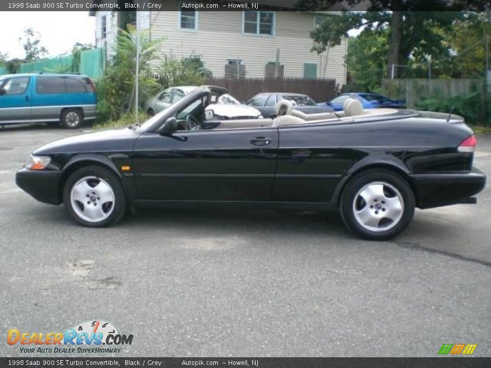 1998 saab 900 se turbo convertible black grey photo 16. Black Bedroom Furniture Sets. Home Design Ideas