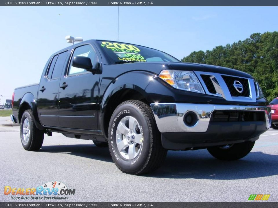 2010 nissan frontier se crew cab super black steel photo 4. Black Bedroom Furniture Sets. Home Design Ideas