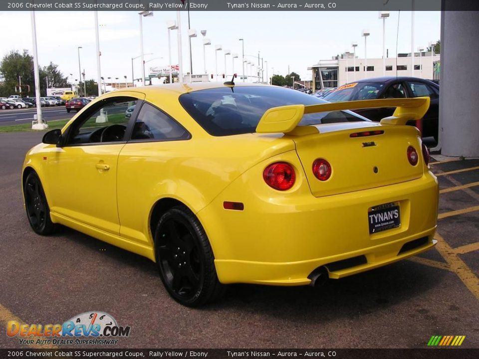 2006 chevrolet cobalt ss supercharged coupe rally yellow ebony photo 3. Black Bedroom Furniture Sets. Home Design Ideas
