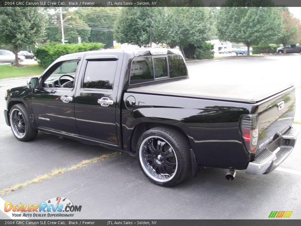 2004 gmc canyon sle crew cab black pewter photo 3. Black Bedroom Furniture Sets. Home Design Ideas