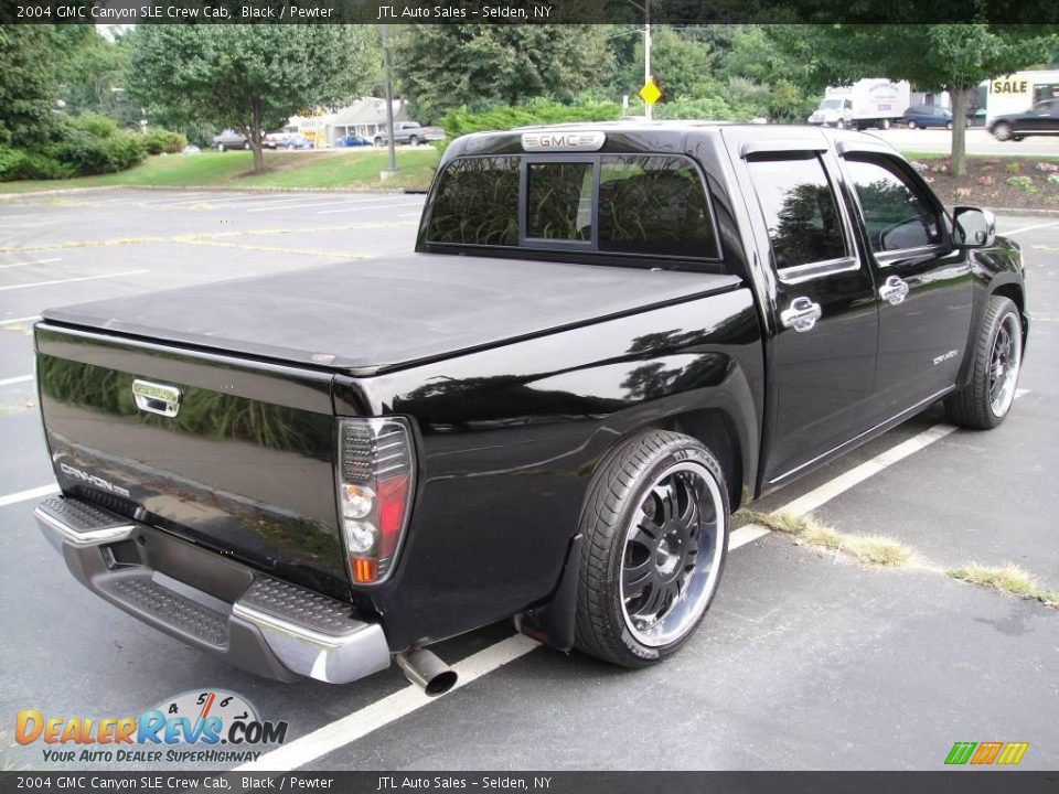 2004 gmc canyon sle crew cab black pewter photo 5. Black Bedroom Furniture Sets. Home Design Ideas
